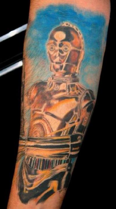 Мужские татуировки - Звездные войны 10