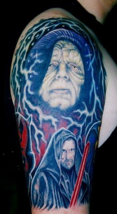 Мужские татуировки — Звездные войны 12