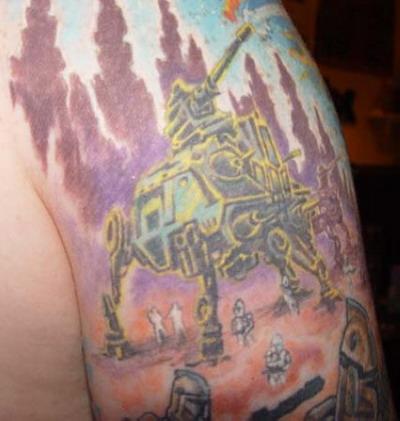 Мужские татуировки - Звездные войны 13