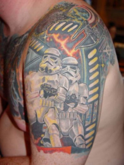 Мужские татуировки — Звездные войны 16