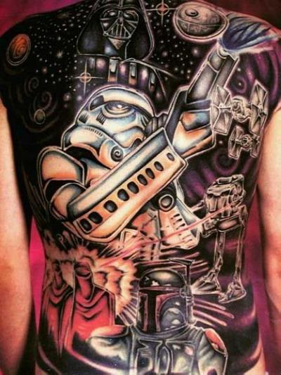 Мужские татуировки — Звездные войны 17