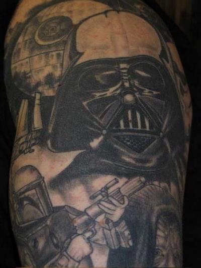 Мужские татуировки — Звездные войны 19