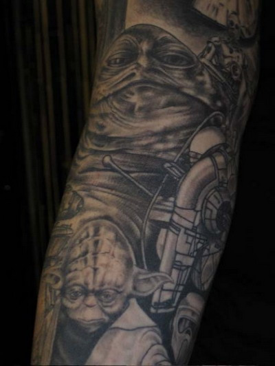 Мужские татуировки - Звездные войны 20