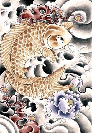 Эскизы татуировок — Рыба