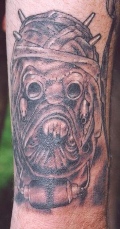 Мужские татуировки — Звездные войны 4
