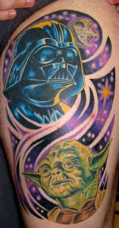 Мужские татуировки — Звездные войны 5