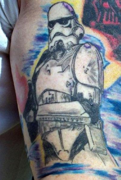 Мужские татуировки — Звездные войны 6
