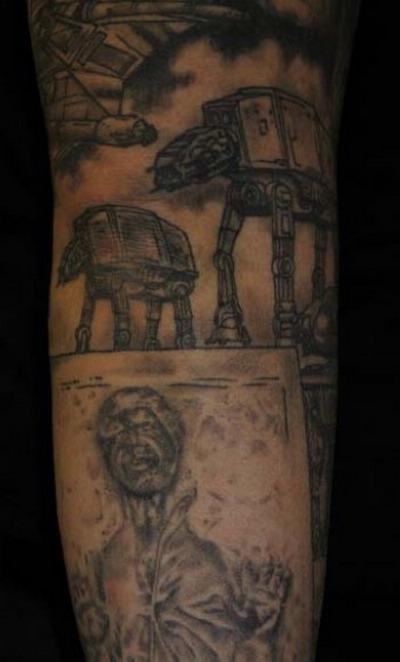 Мужские татуировки - Звездные войны 7