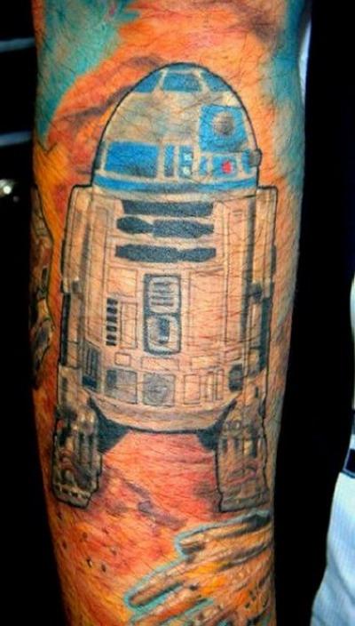 Мужские татуировки — Звездные войны 8
