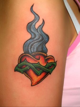 Фото татуировок - Сердце