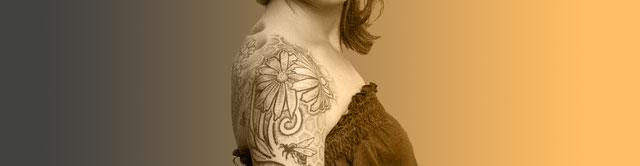 Фото татуировок - Цветы