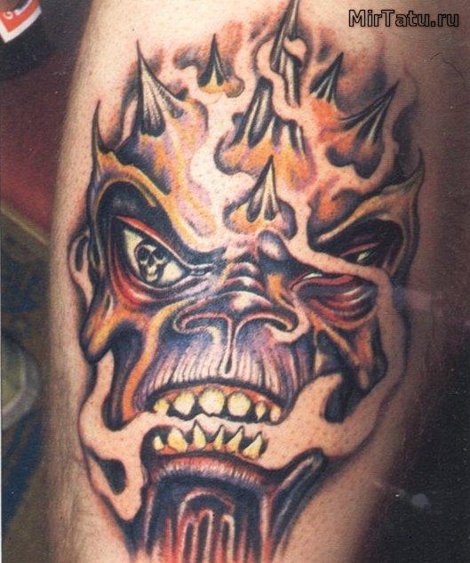 Фото татуировок - Череп