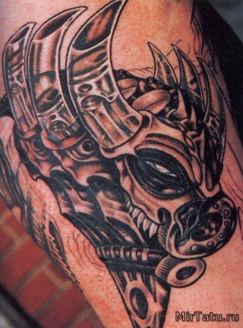 Фото татуировок - Пришелец 2
