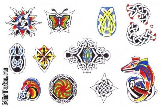 Эскизы татуировок — Кельтские узоры 15
