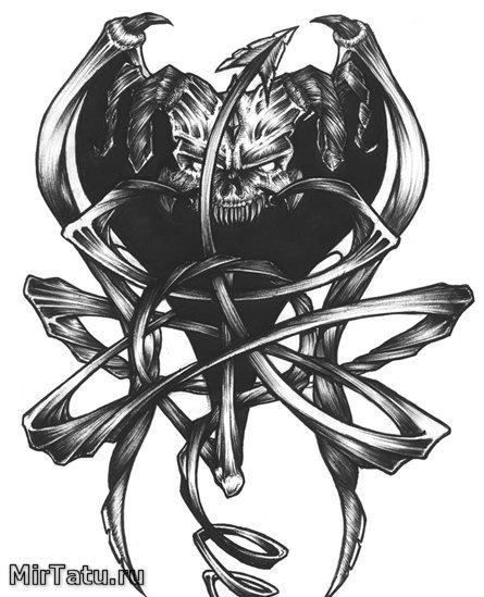 Эскизы татуировок — Зарисовка 22