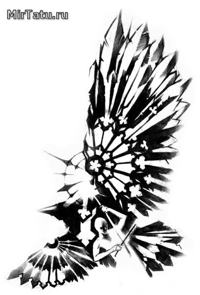 Эскизы татуировок - Зарисовка 23