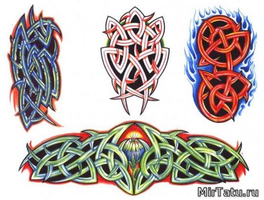 Эскизы татуировок — Кельтские узоры 17