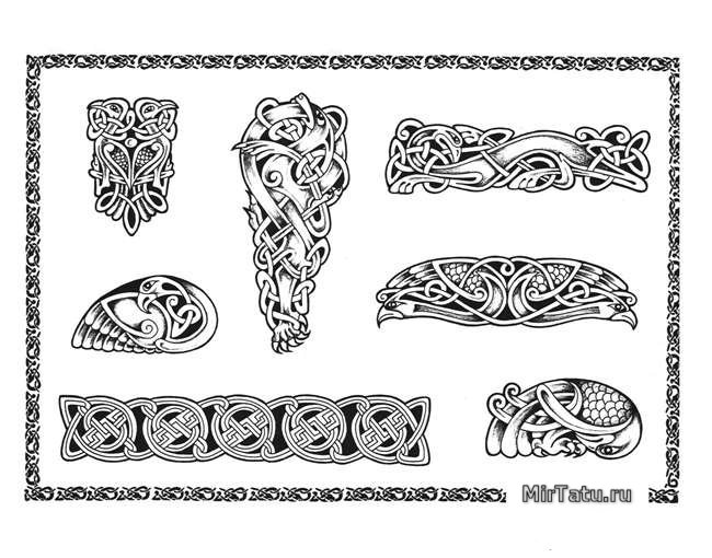 Эскизы татуировок - Кельтские узоры 5
