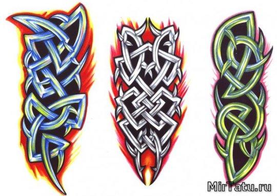 Эскизы татуировок — кельтские узоры 18