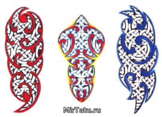 Эскизы татуировок - Кельтские узоры 19