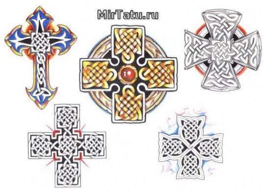 Эскизы татуировок — Кельтские узоры 21