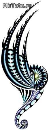 Эскизы татуировок — Биомеханика 11