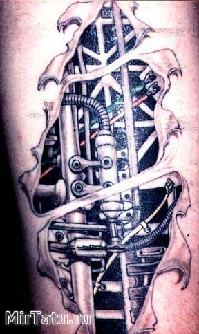 Фото татуировок — Биомеханика