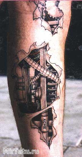 Фото татуировок — Биомеханика 2
