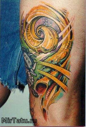 Фото татуировок - Биомеханика 3