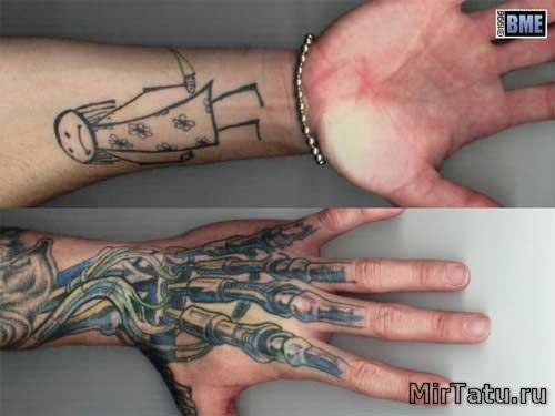 Фото татуировок - Биомеханика 4