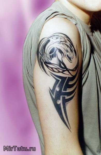 Фото татуировок — Биомеханика 6