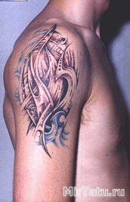 Фото татуировок - Биомеханика 9