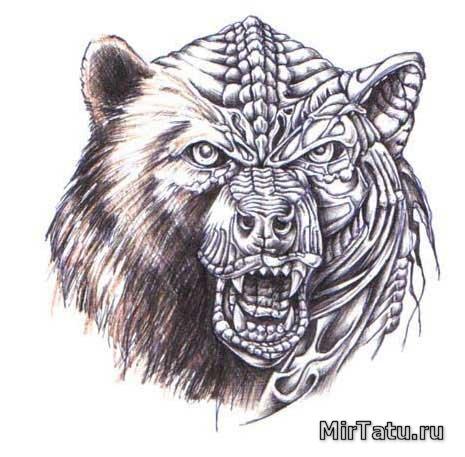 Tattoo3 эскизы татуировок биомеханика 3