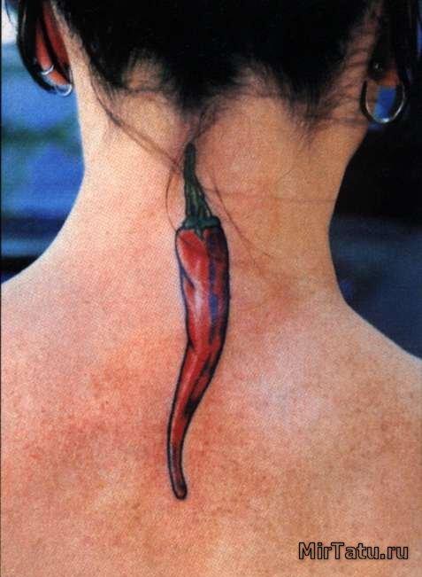 Фото татуировок — Перец