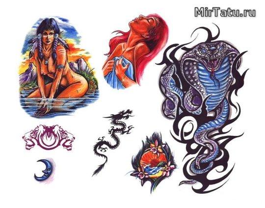 Эскизы татуировок — Индийские татуировки 2