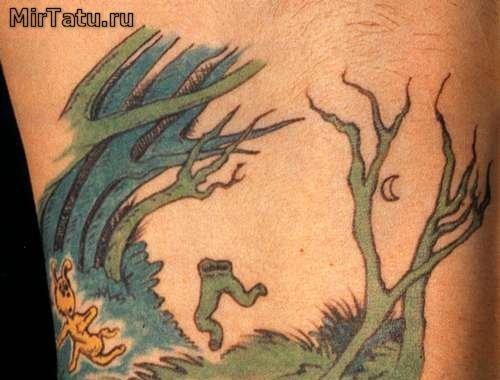 Татуировка навсегда