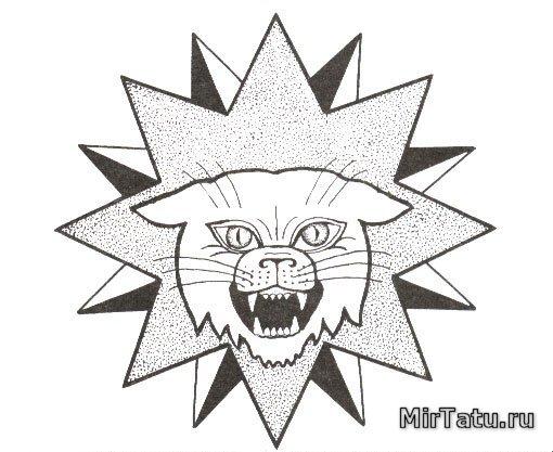 Тюремные татуировки — Воры в законе 10