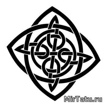 Эскизы татуировок - Кельтские узоры 37