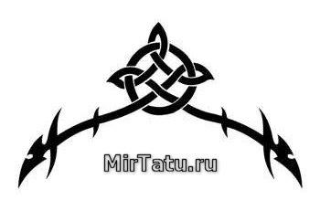 Эскизы татуировок — Кельтские узоры 38