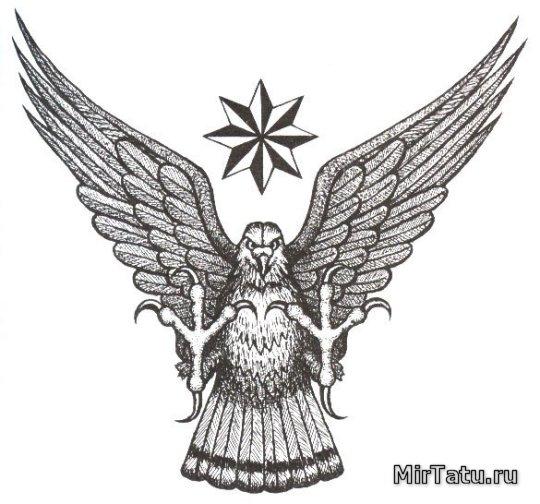 Тюремные татуировки - Орел
