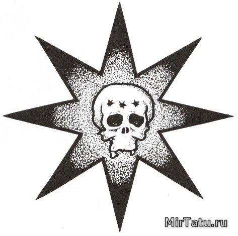 Тюремные татуировки — Воры в законе 5