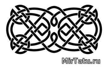 Эскизы татуировок — Кельтские узоры 27