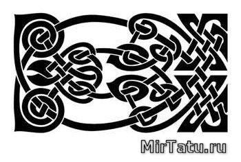 Эскизы татуировок — Кельтские узоры 28