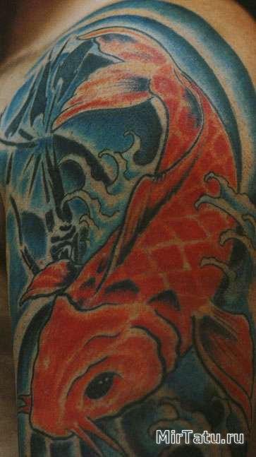 Фото татуировок - Морские татуировки 2