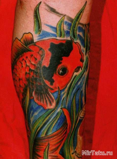Фото татуировок - Морские татуировки 7
