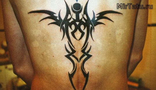 Фото татуировок — Крылья