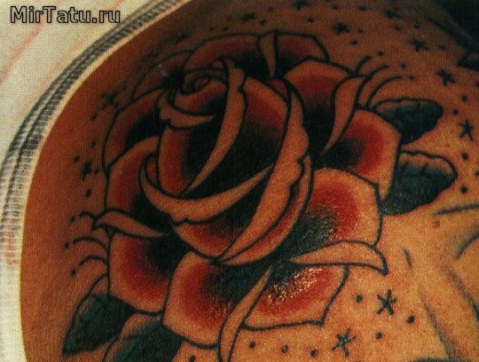 Фото татуировок - Цветы 3