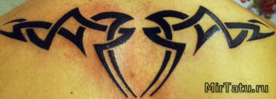 Фото татуировок — Татуировка на спине 2