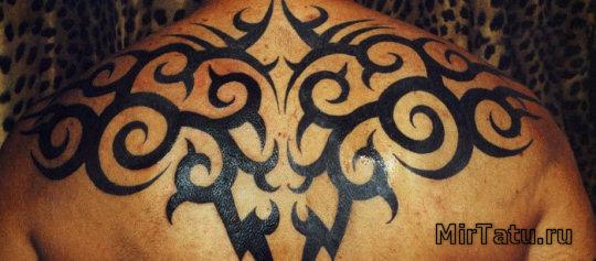 Фото татуировок — Татуировка на спине 3