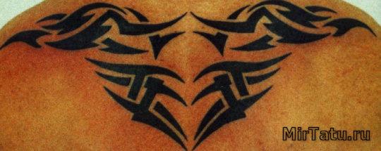 Фото татуировок — Татуировка на спине 4